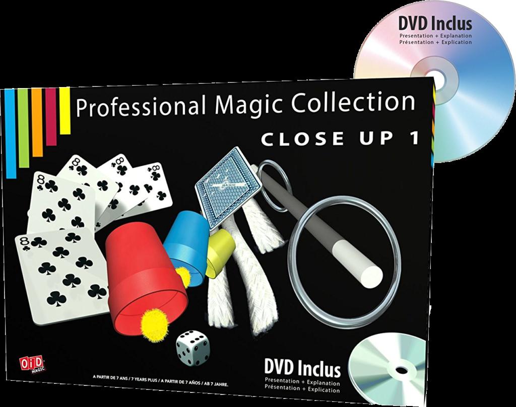 Apprenez la magie avec notre coffret d'initiation.
